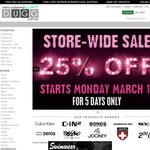 25% OFF Store-Wide on All Men's Underwear at DUGG.com.au - FREE Shipping Australia Wide