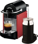 DeLonghi Nespresso Pixie Coffee Machine - Red - Harvey Norman - $238, $178 after Cashback
