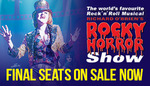 Rocky Horror Show Perth (Crown Theatre) - All Remaining Tickets $64.90 + Ticketek Fees