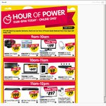 All Dick Smith Hour of Power Deals 9am-8pm EST Today Every Hour, Online Only, No Click & Collect