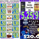 $3.50 1L Rum and Raisin Ice Cream, $9.99 200g Moconna Coffee @ Sara Lee Outlet [NSW/QLD] + More
