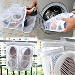 Washable Mesh Laundry Shoes Wash Bag Dry Bag US$4.69 Free Shipping