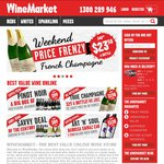 $50 off All Wine Sitewide - Minimum Spend $120 (Excludes Champagne*, Beer, Cider) @ WineMarket