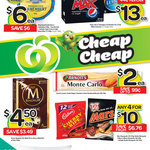 44% off Streets Magnum $4.50, 50% off King Island Cheese* $6 & Ocean Spray Cranberry $2.90 @ WOW