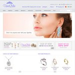 Jewellery Up to 50% Sale. Free Shipping with No Minimum Spend @ Tiara Bleu