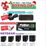 MSY Boxing Day Sales: 40% off Rapoo, 30% off Patriot PowerBanks AND Sale on Monitors & More