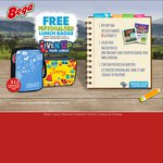 Free Personalised Lunch Box with 2 Specially Marked Bega Cheese Products + $3.50 P&H