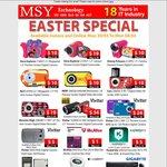 MSY EASTER Sale: Kaspersky $5, Logitech G502 / Razer Naga $49, Logitech M325 $15, Loads More