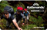 FREE Kathmandu Summit Club Membership (Worth $10) Plus 40% off for Members