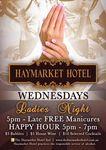 Free Manicures on Wednesdays at The Haymarket Hotel Sydney