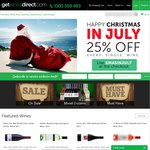GetWinesDirect - 25% off All Wine