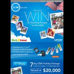Win a 7 Day USA Holiday Package, $2,000 BIG W Gift Card or $1,000 BIG W Gift Card from Lexar