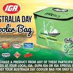 Australia Day Cooler Bag $2 with Purchase of Participating Brands @ Selected IGAs in WA
