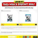 Sherlock: The Abominable Bride $14.98 @ JB Hi-Fi (Blu-Ray or DVD)