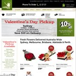 12 Roses with Lindt 125g Chocolate $69.95 @ Fresh Flowers - Pickup at Sydney and Perth Only