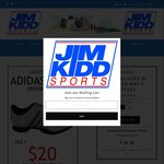 $20 Adidas Women's and Junior Golf Shoes Available from Jim Kidd Sports in WA