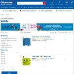 Yoobi Clearance: Glue 118ml, Glue Stick 3pk, Pins 75pk, BigEraser $0.50ea, Washable Markers 8pk $1, Table $25 +More @Officeworks