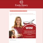 Win a Trip for Two to Dine with Justine Schofield at Her Favourite French Restaurant in Sydney from Emile Henry