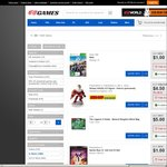 $1 PlayStation 3, Xbox 360, 3Ds, Wii U Games @ EB Games (in Store Only)