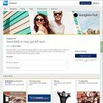 AmEx Statement Credits: Sunglass Hut (Spend $100 Get $25)