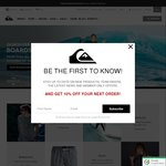 Quiksilver $20.17 off $50 Min Spend. Free Delivery over $50