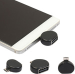 Micro USB Male to USB 2.0 Adapter OTG US $0.21/ AUD $0.27 Delivered @ AliExpress