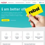 Medibank Private Health Insurance 6 Weeks Free - Hospital Only / Extras Only / Hospital & Extras Cover