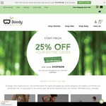 25% OFF Your Entire Order @ Boody Eco Wear - Boody.com.au