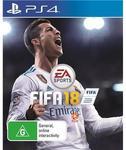FIFA 18 - PS4 & Xbox One: $69 @ JB Hi-Fi (Pre-Order)