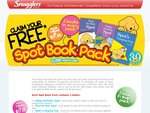 FREE Spot Book Pack - with Every 2 Barcodes from Snugglers Nappy Pack