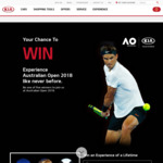 Win 1 of 5 VIP Experiences at the 2018 Australian Open Worth $5,640 from Kia