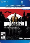 Wolfenstein II: The New Colossus - PS4 [Digital Code] - US $29.99 (Approx AU $39.20) at Amazon