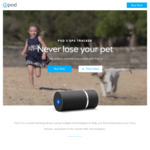 POD 3 GPS Pet Tracker $189 Including Free Lifetime Subscription (Valued at $215) + Free Postage @ POD