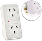 FREE Sansai Vertical up Powerpoint Double Adaptor/Outlet Power Board Splitter/NZ/AU Delivered@ Catch