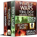 Free Kindle Edition eBook: Plague Wars: Infection Day: The First Trilogy: Three Apocalyptic Sci-Fi Adventures @ Amazon AU, US, U