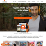 Free Audiobook Streaming for 14 Days @ Storytel