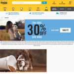 Petbarn 30% off Online Purchases (Some Exclusions Apply)