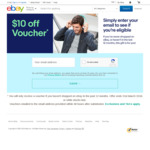 $10 off Coupon (for Accounts with No Purchases in The Last 12 Months) @ eBay Australia (Use Incognito Mode)