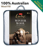 Tontine Luxe Winter Duvet (Australian Washable Wool) - $80.76 to $99.80 Delivered @ Planet Linen eBay