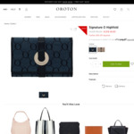 Oroton $30 off (Min $50 Spend, New Subscribers Only) + $9.95 P&H (e.g Signature O Highfold Wallet $38.45 Delivered)