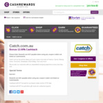 Catch.com.au 12% Cashback (Was 2.5%) @ Cashrewards