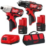 Milwaukee 12v Drill and Impact Driver Kit  $191 + Free Postage @ Sydney Tools