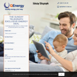 $25 off 1st Bill, $25 off after 12 and 23 Months at Q Energy