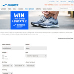 Win a Pair of Levitate 2 Runners Worth $249.95 from Brooks