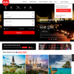Melbourne to New Delhi from $239 One Way on Air Asia Sale - Oct 1 to Nov 30