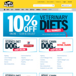 10% off Veterinary Diets @ My Pet Warehouse