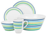 Campfire 24 Pieces Camp Tableware Sea Breeze or Nautical $25 @ Anaconda Call Stores to Reserve or + Postage