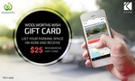$25 Woolies Gift Card When You Register & List Parking Spot with Kerb $5 @ Groupon