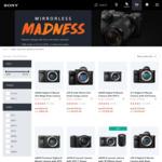 Sony Mirrorless Camera Madness: A6000 $665, A6300 $1019, A6500 $1399, A7II $1614, A7RII $2549 @ Sony Australia