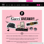 Win a Gucci Prize Pack Worth $3,000 from PONi Cosmetics